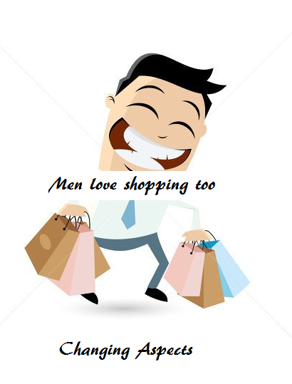 Men love shopping too